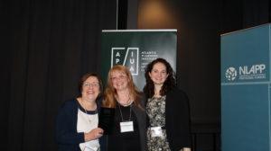 Mary Bishop receiving 2019 API Volunteer Award