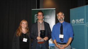 Nathan Rogers receiving 2019 API Volunteer Award